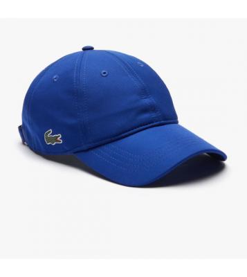 Casquette légère unie bleu