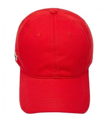 Casquette légère unie rouge