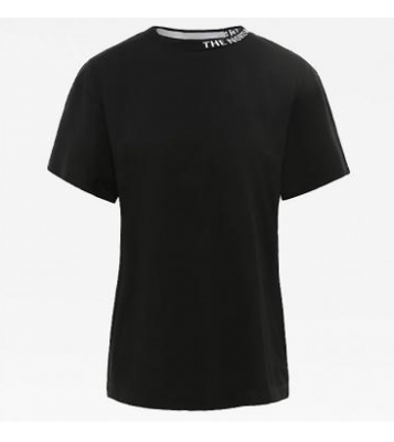 Tshirt à col rond noir