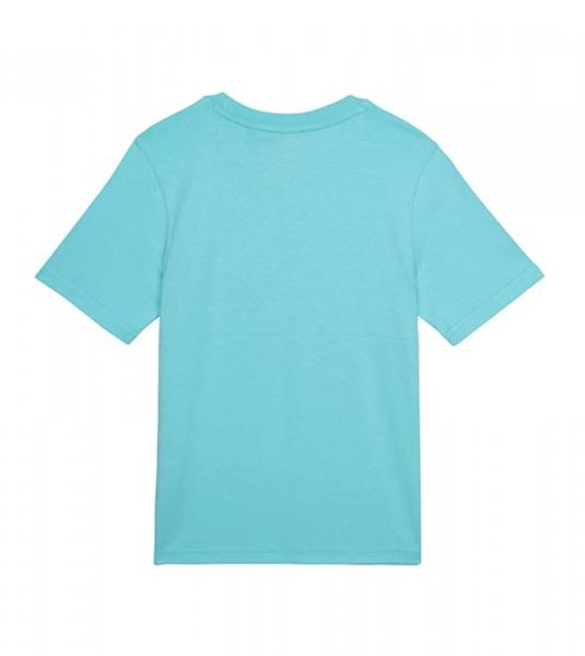 Tshirt vert col rond en coton