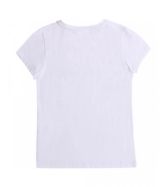 Tshirt blanc en coton logo...