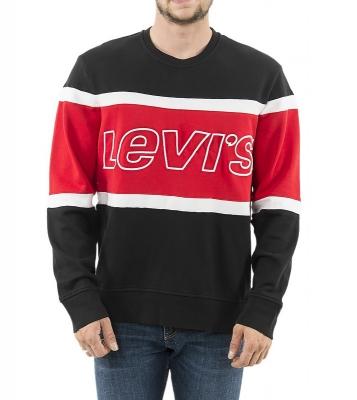 Sweatshirt Pieced Crew...