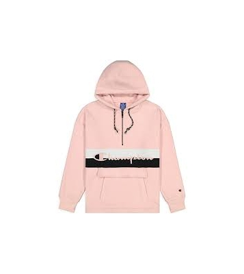 112150 HOODED HALF ZIP TOP