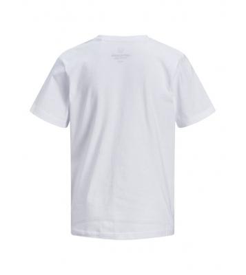 Tshirt blanc logo bleu en...