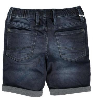 Bermuda en jeans bleu foncé