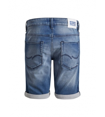 Bermuda en jeans clair