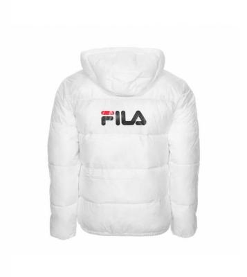 Blouson Floyd Puff Hood Blanc