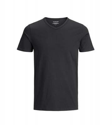 Lot de 2 t shirts col V noir