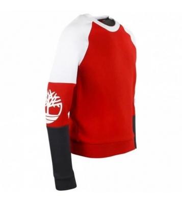 Pull rouge logo bras