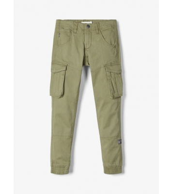 Pantalon cargo regular fit...