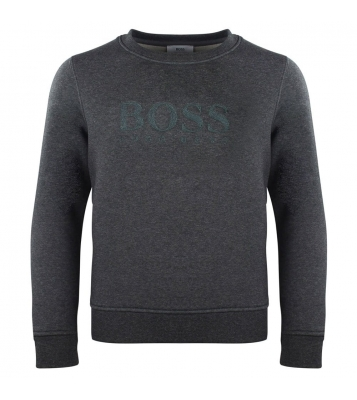 Pull gris logo central