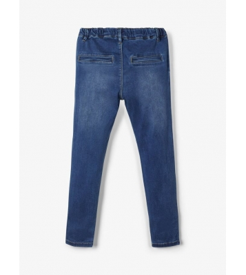 Jeans regular fit avec cordon
