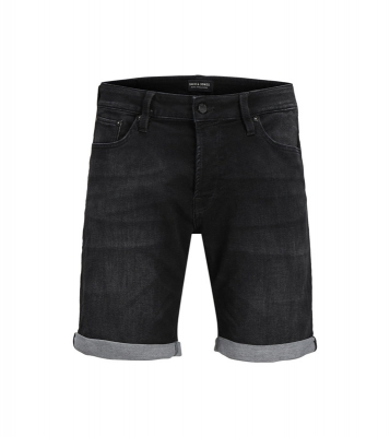short black denim