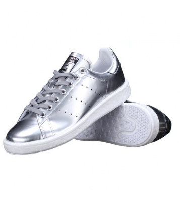 BB0108 STAN SMITH BOOST ARGENT