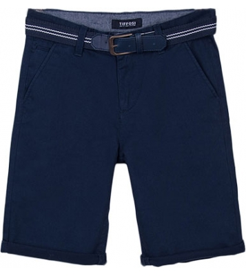 Short bleu marine avec...