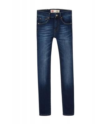 Jean 501 Skinny bleu brut