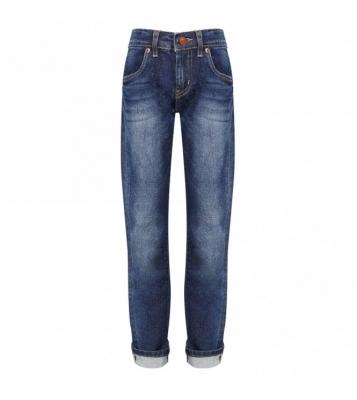 Jean 512 Slim tapper bleu