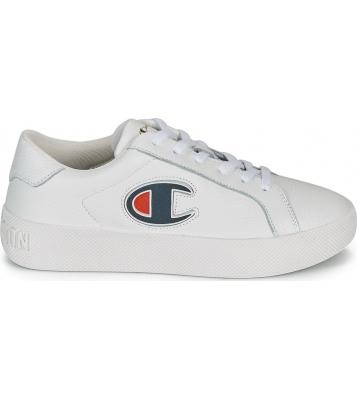 Basket Era Leather blanche