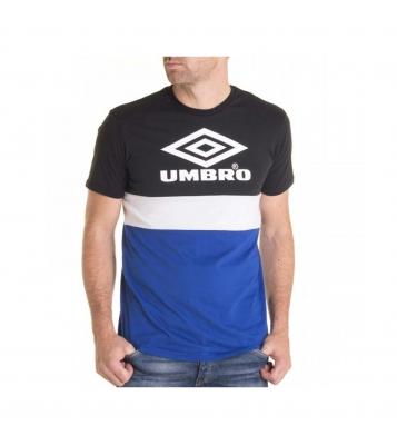 Tshirt noir et bleu royal