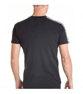 Tshirt noir bandes blanche...
