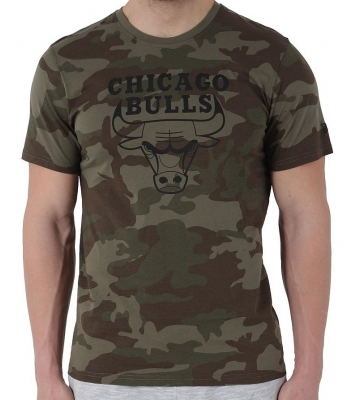 Tshirt Chicago Bull camouflage