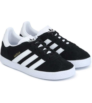 Basket Gazelle mixte noir