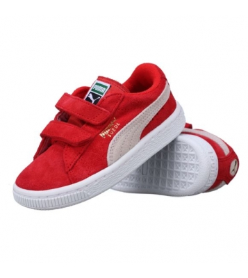 Basket Suede rouge