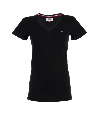 T-Shirt Stretch Classic Noir