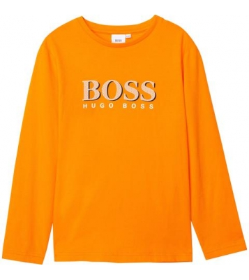 T-Shirt manches longues Orange