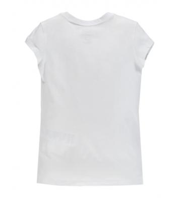 Tshirt blanc logo rouge...