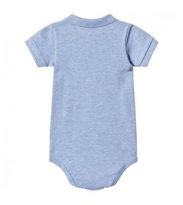 Body en maille piqué bleu...