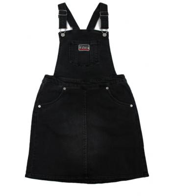 Salopette jupe noir
