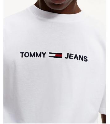 Tshirt blanc à logo en...