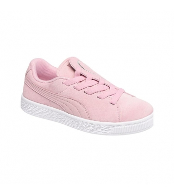 Basket Suede Crush rose