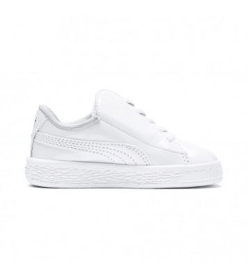 Basket Suede Crush blanche