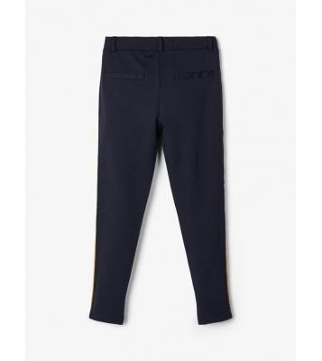 Pantalon élastique marine à...