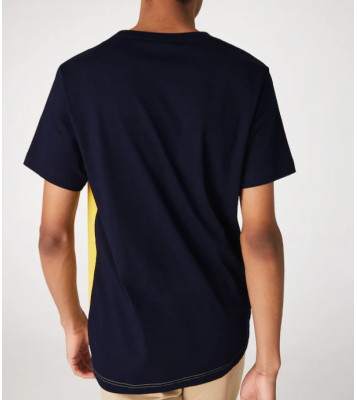 Tshirt en jersey marine/...