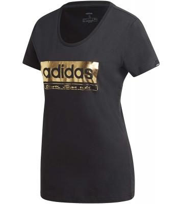 Tshirt noir et or