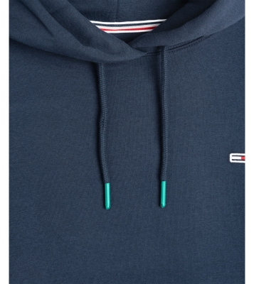 Robe sweat à motif logo marine