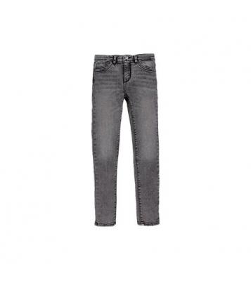 Jean 710 Super Skinny gris
