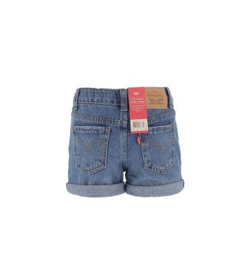 Short en jeans fille slim