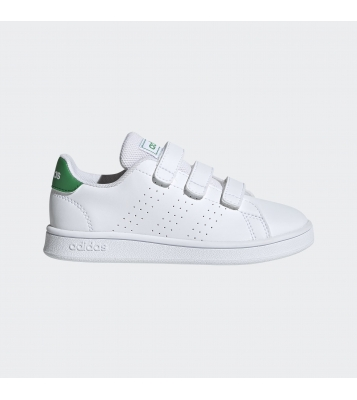 Basket Advantage blanche/verte