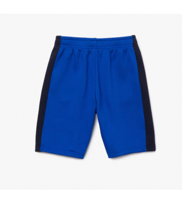 Short en molleton bleu/marine