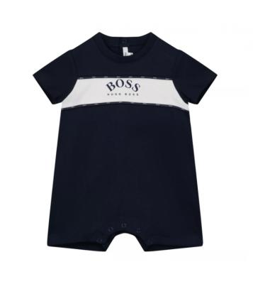 Combinaison bébé marine