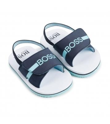 Sandalettes bleu/marine