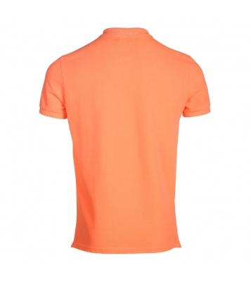 Polo Cherbourg orange fluo