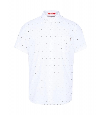 Chemise blanche à manches...