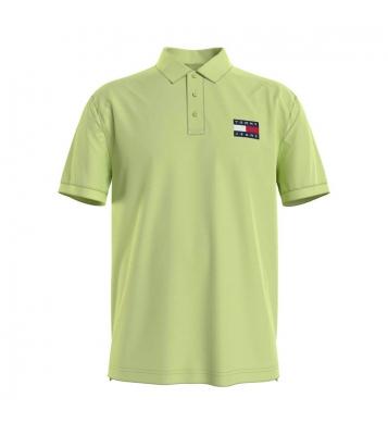 Polo écusson drapeau vert