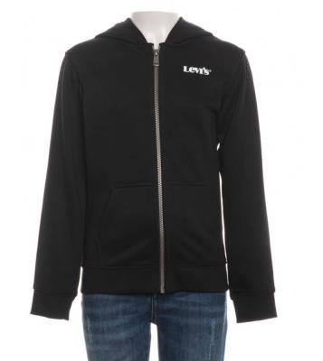 Veste à capuche zippée noir