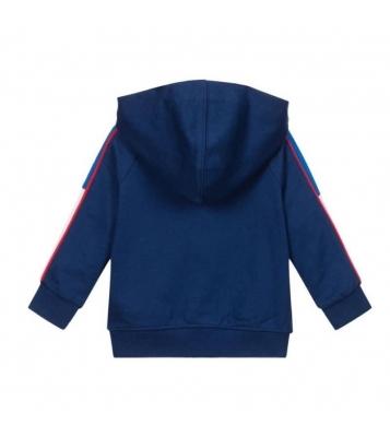 Veste de jogging bleu bébé
